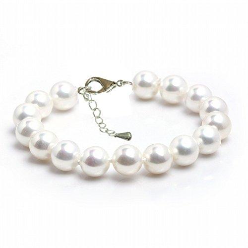 Schmuckwilly-Muschelkernperlen-Perlenarmband-Perlen-Muschelkernperlen-Armband-wei-Hochwertige-mb0017