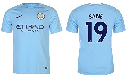 anchester City 2017-2018 Home - Sane 19 (152) (Nike-city)