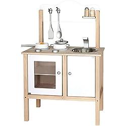 Viga - Cocina de juguete de madera y dimensiones 54 x 83.5 x 30 cm (1064)