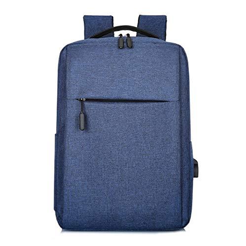 aptop-Rucksack, robuster Reiserucksack mit USB-Ladeanschluss, Mode-Laptop-Rucksack für 16-Zoll-Laptop-Pack für Frauen und Männer,B ()