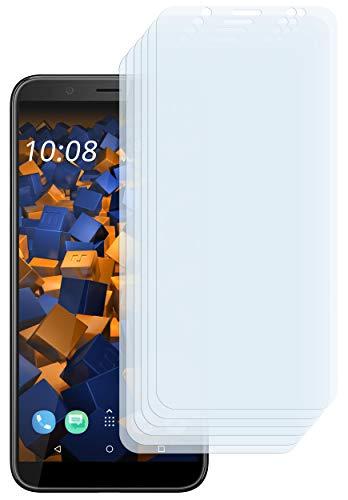 mumbi Schutzfolie kompatibel mit HTC U12 Life Folie klar, Bildschirmschutzfolie (6x)