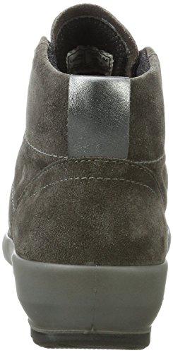 Legero Olbia, Sneaker a Collo Alto Donna Grigio (Stone)