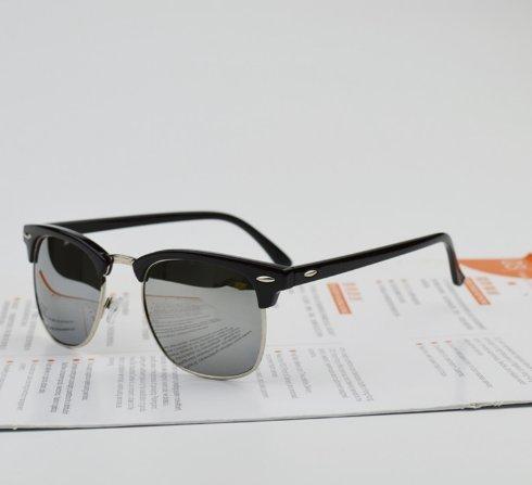 aoauto® Sonnenbrille Metall Herren Frauen Marke Designer Brillen Spiegel Sun Fashion