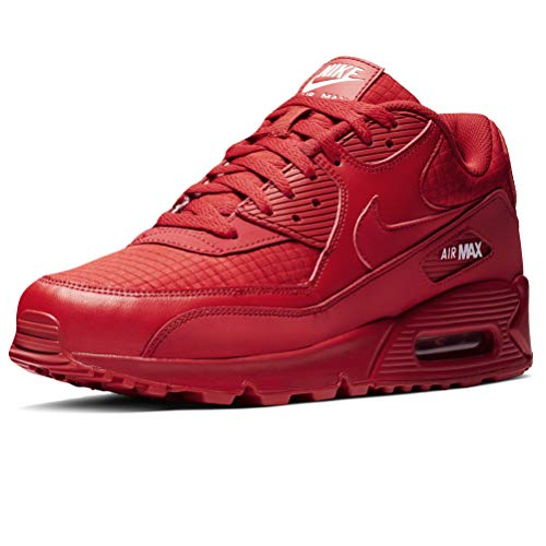 Nike Air Max 90 Essential, Chaussures de Gymnastique Homme, Rouge (Univ Red/White 602), 41 EU
