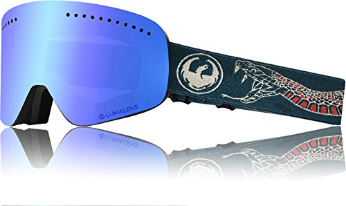 Drachen NFX Rattler Lumalens Blau Ion + Lumalens Bernstein 28635-001 Snow Goggles
