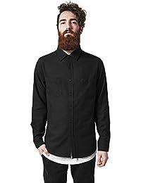 Urban Classics Checked Flanell Shirt - Camisa