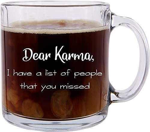 asse, Motiv: Dear Karma, ideal für Freunde und Bürokollegen ()
