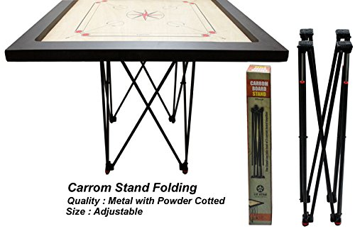 Tenstar Adjustable Easy Fold Carrom Stand