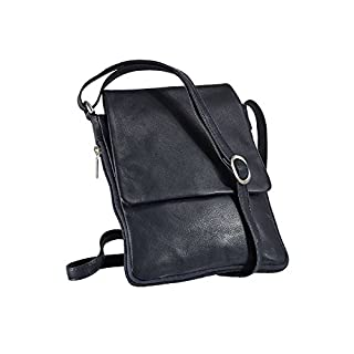 Avena Damen Leder-Handtasche Every Day Blau