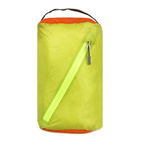 HSL ultra light wasserdichte Tasche kleider - Tasche fur reisen, kajak, kanu, grasgrun, s
