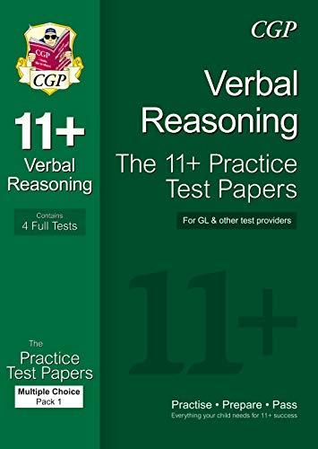 11+ Verbal Reasoning Practice Papers: Multiple Choice - Pack