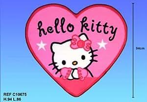 Fun House - Tapis Coeur Hello Kitty