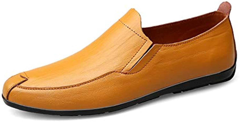 Jiuyue-scarpe Mocassini da Guida per Uomo 660a3d9ea5c