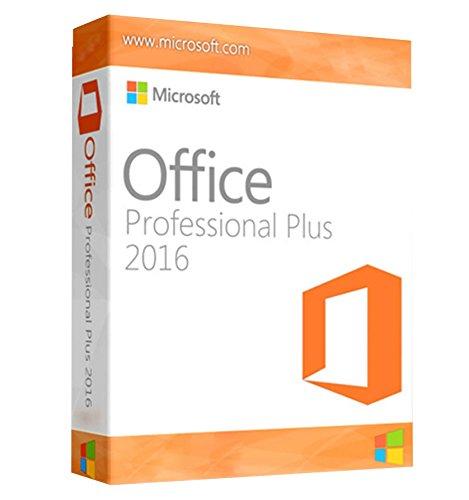 Microsoft Office 2016Professional Plus [1PC/User] software Key senza supporto versione completa VL