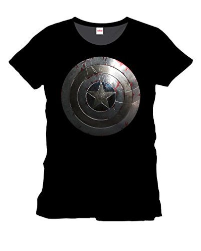Captain America T-Shirt Silver Shield XXL