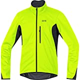 GORE Wear Winddichte Herren Fahrrad-Jacke, C3 GORE WINDSTOPPER Jacket, L, Neon-Gelb/Schwarz, 100338