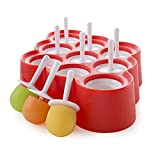 Zoku Mini Ice Pop Moulds - Red