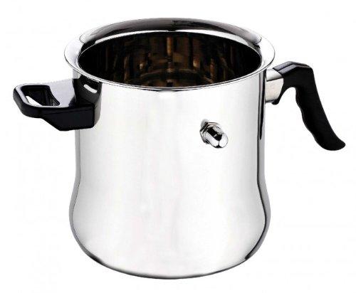 Edelstahl Milchtopf - Milchkocher - Milch Topf - Simmertopf - Milcherwärmer - Wasserbadkocher - Wasserbadtopf, kapazität:3 L