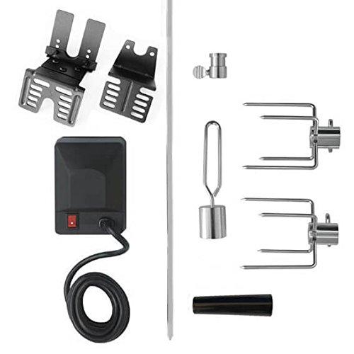 Electric Universal Rotisserie Kit - 240 volt BBQ Rotisserie