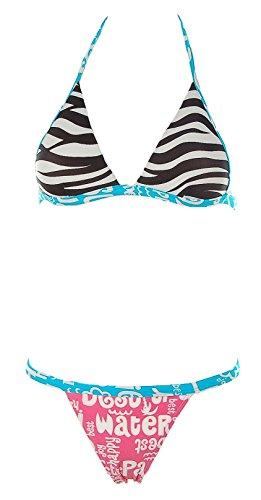 Kejton Brasil sexy Triangel Bikini Zebra, Gr.: M