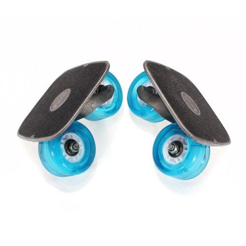 Free Line Skates Driften Flashing Roller Skating Rad mit Schraubenschlüssel -
