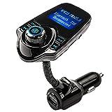 Luckiests Téléphone sans Fil Bluetooth Voiture ands Gratuite Transmetteur FM...