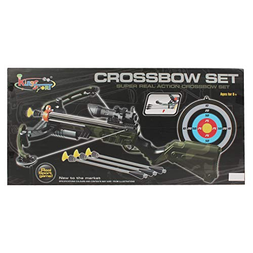 Planet of Toys Super Real Action Crossbow Play Set for Kids, Children