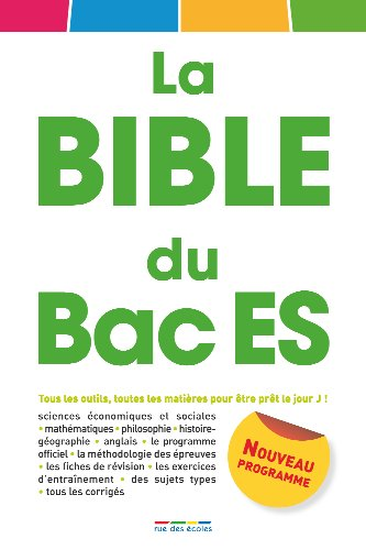 La Bible du Bac ES
