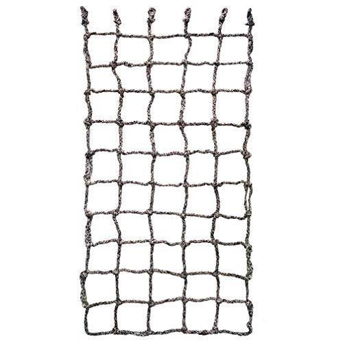 Aoneky Kletternetz Kinder, Freiensport-Entwicklungstraining Krabbelnetzwand-Schutznetz-Spielplatz-Ausrüstung, Gepäcknetz für Klettern, Outdoor & indoor, 1 x 2m