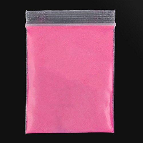 10g super heller, fluoreszierender, umweltfreundlicher Pulverfarbstoff für Bastelarbeiten rose pink