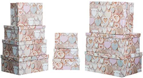 Bonitas cajas de regalo 10piezas de incendio sseller esta caja de regalo es práctica se herrvoragend para guardar cosas o como caja de regalo creativo. regalo diferente para cada edad garantiza. cada caja grande: 19x 13x 7,5cm 21x 15x 8,5cm 23...