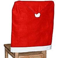 Alsino 2-48 STK. Stuhlhusse Weihnachten Dekoration Weihnachtsmütze für Stühle wh-69, wählen:4 Stück