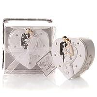 Solefavors Elegant Bride & Groom Trinket Box Favour