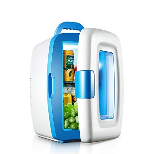 YEXIN 10-Liter-Mini-Kühlschrank (10 Liter / 12-Liter-Kanister) - Mit Wechselstrom/Gleichstrom betriebener tragbarer Kühler und Wärmer für Autos, Autoreisen, Privathaushalte, Büros und Schlafsäle