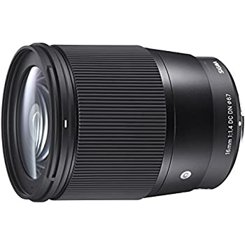 Sigma 16 mm F1.4 DC DN Contemporary - Objetivo para Sony E, color negro