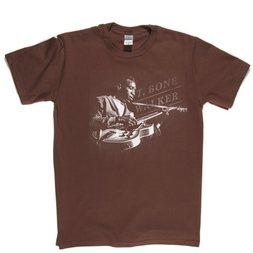 T-Bone Walker American Blues Singer Songwriter T-shirt Braun