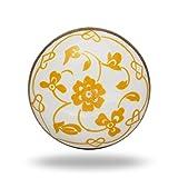 Ceramic Yellow Dance Knob