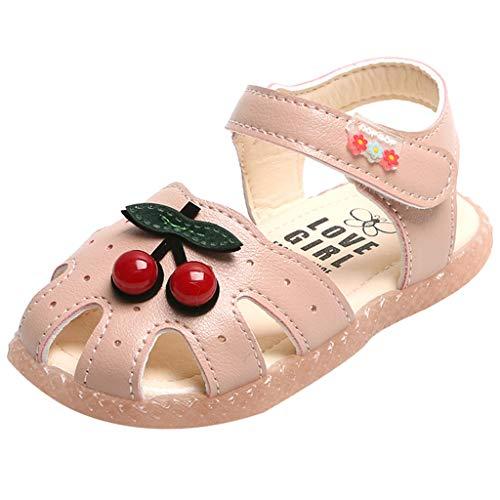 LILICAT_Schuhe Babyschuhe Mädchen Geschlossen Klettverschluss Sommer Kinder Schuhe Krabbel Atmungsaktiv Strand Trekking Wandern Atmungsaktiv Schuhe