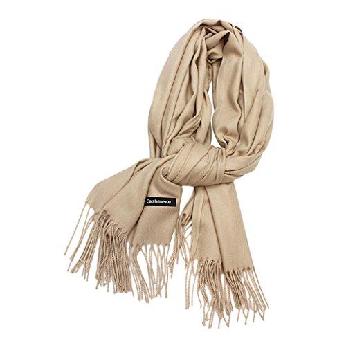 0ed53bacd4c3 SimpleLife Blend Cashmere Adultos Tag Borla Bufandas Warm Winter Shawl para  Hombres Mujeres