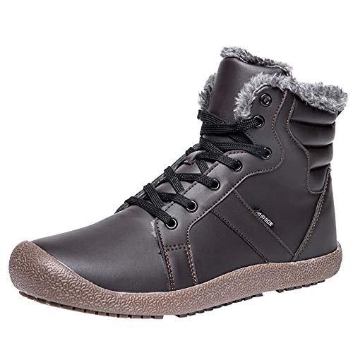 Schuhe Damen Winter Ski Stiefel Stiefeletten Schneestiefel Gefütterte -