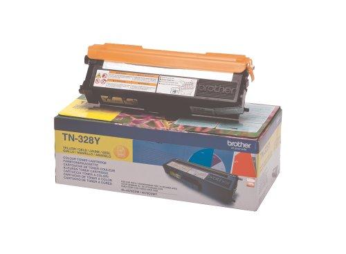 Preisvergleich Produktbild Brother Original Super-Jumbo-Tonerkassette TN-328Y gelb (für Brother HL-4570CDW,  HL-4570CDWT,  DCP-9270CDN,  MFC-9970CDW