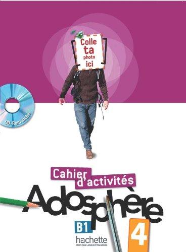 Adosphre 4 - Cahier d'activits + CD-ROM par Fabienne Gallon