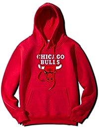 YOHH Chicago Bulls Sudadera Hombre Sudaderas Con Capucha