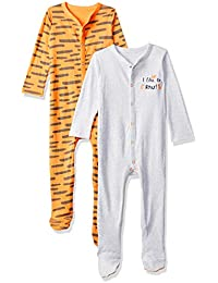 Mothercare Baby Boys' Sleepsuit (Pack of 2)