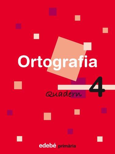 Quadern 4 Ortografía - 9788423683970