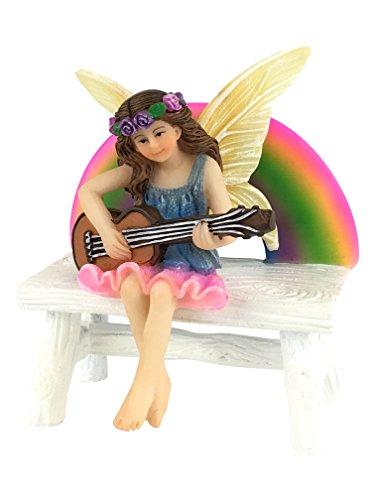 Megan Hada Arco Iris Banco Arco Iris juego. Figurita