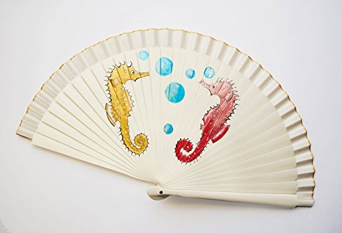 hand-painted-fan-see-horses