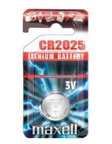 Maxell - CR2025 pilas de litio 3 V / 5 unidades