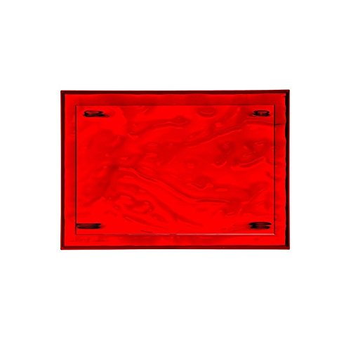 Kartell 01200VR DUNE Plateau, rouge