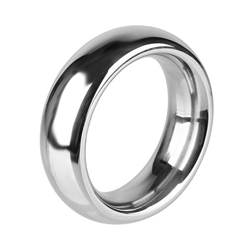 Beauty7 Extra Schwer Edelstahl Penis Ringe Cock Ringe für eine Harte & Lang Anhaltende Erektion - Größe S (? 4cm) (Reifen-träger)